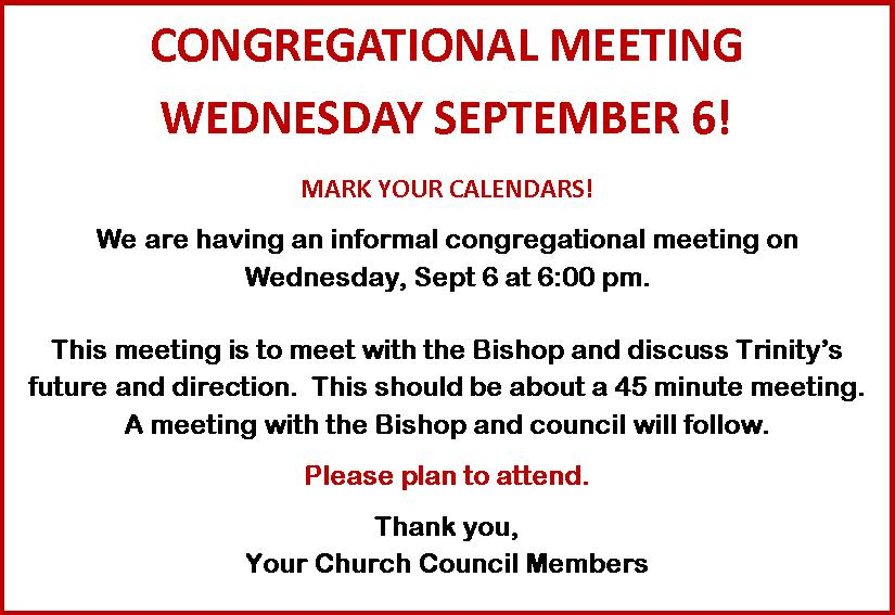Bishop Meeting